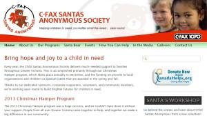 CFAX Santas Anonymous Society
